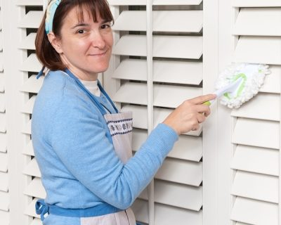 Cleaning New Shutters