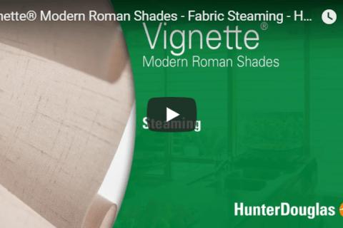 Vignette Roman Shades